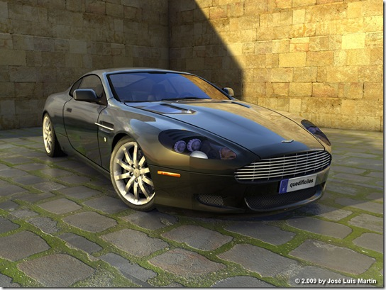 ASTON MARTIN DB9 ADVANCED RENDER 007