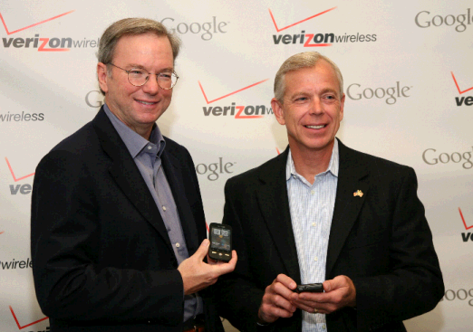CEOs of Google and Verizon