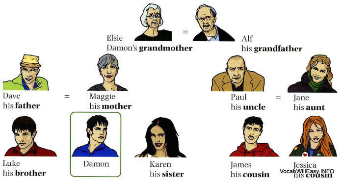 family%20tree <!  :en  >Family Tree<!  :  > people english through pictures
