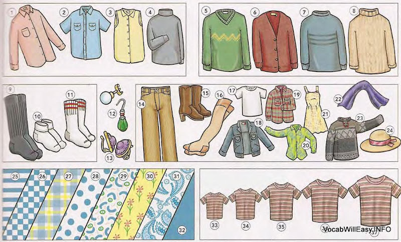 Describing Clothing Online Dictionary For Kids
