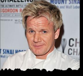 Gordon Ramsey - fin i håret