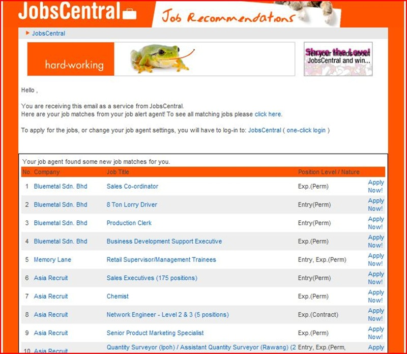 jobcentral