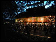 The Open Air Theatre bar - by Londontown