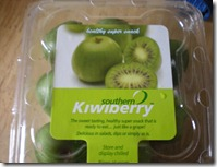 kiwi berries. . like kiwis but not.
