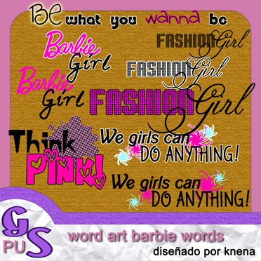 Preview-WordArt-BarbieWords