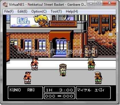 Famicom Roms – [NES] Nekketsu! Street Basket - Ganbare Dunk Heroes (Japan)