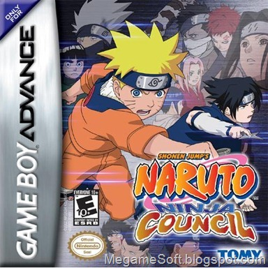 Gameboy Advance Roms –[GBA] Naruto - Ninja Council (English)