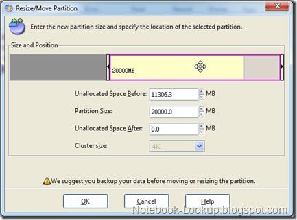 วิธีใช้งาน EASEUS Partition Manager 9.0 Home (Freeware) ในการปรับขนาด Partition บน Windows