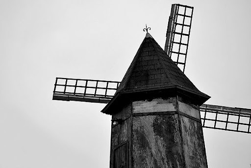 Windmill, Vanne, France