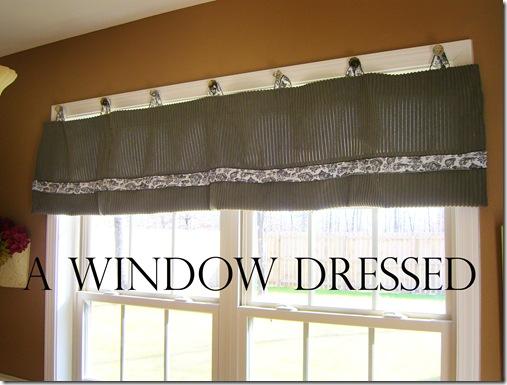 A window Dressed