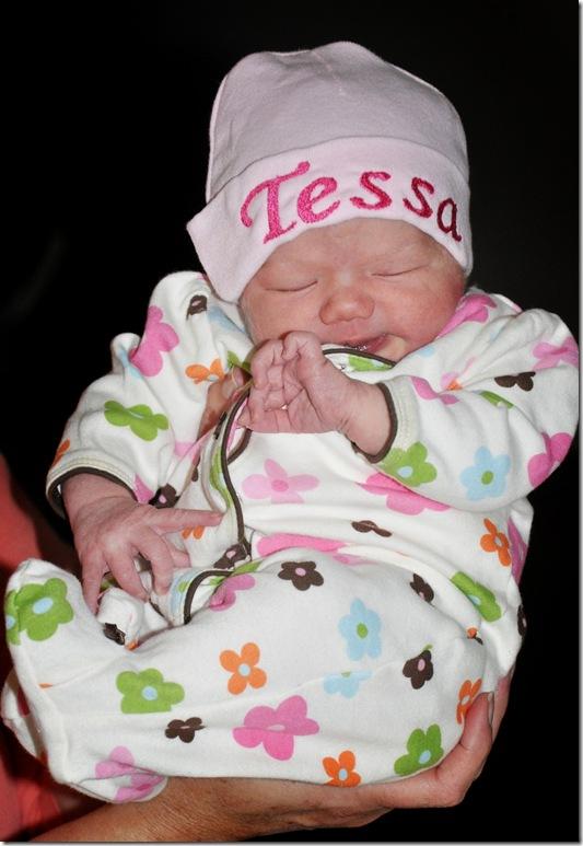 Tessa coming home