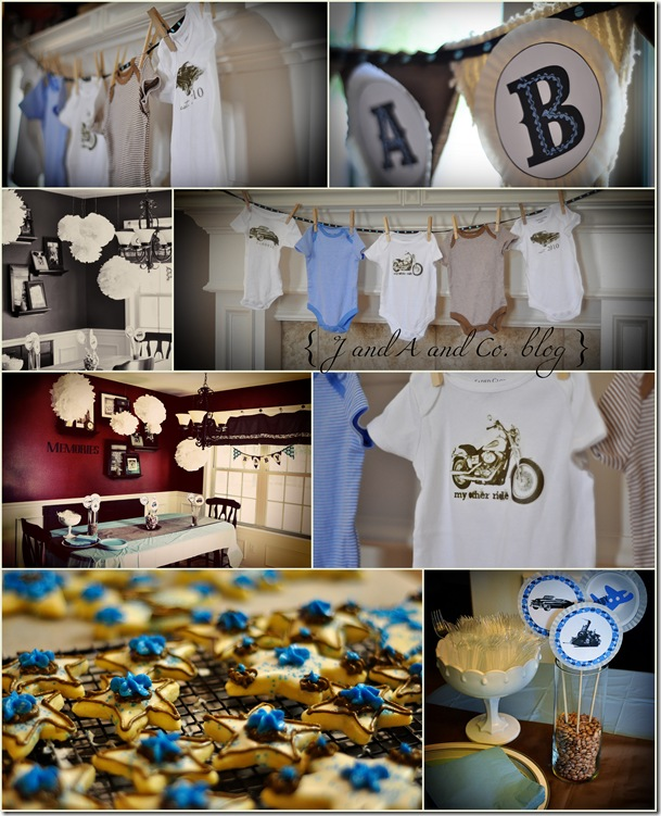Baby Shower collage CR