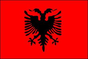 Flaga Albańska