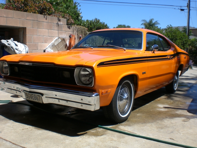 sell trade 1973 plymouth duster in san diego for a bodies only mopar forum. Black Bedroom Furniture Sets. Home Design Ideas
