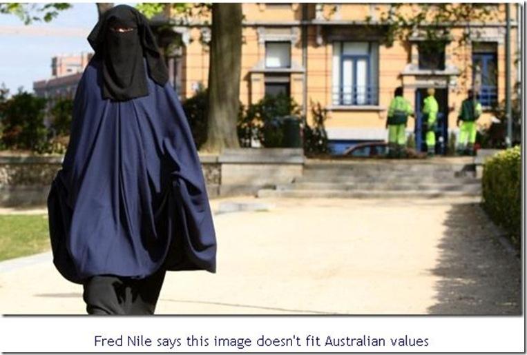 23 6 2010 Fred Nile Burka Ban 2