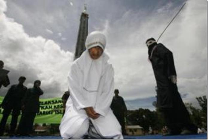 3 10 2010 Aceh flogging
