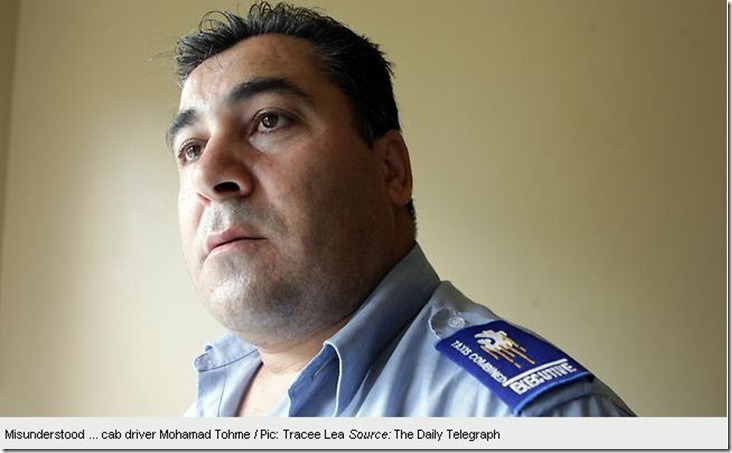 Copy of 13 12 2010 Is Mohamad Tohme the worst cab driver in Sydney
