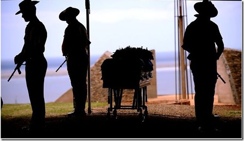 Copy of 5 3 2011 Sapper Jamie Larcombe farewelled on Kangaroo Island