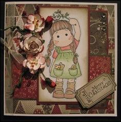 Sarah's Magnolia card