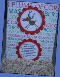 Sarah's reindeer food
