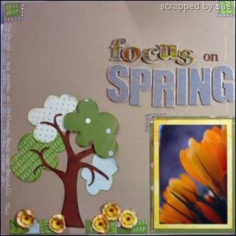 focus on spring