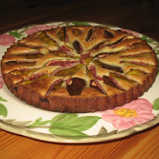 Snappy Gingered Fig Tart