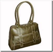 Flight Bag in Olive