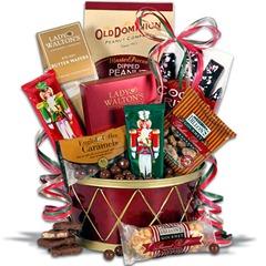 Nutcracker-Drum-Gift-Basket