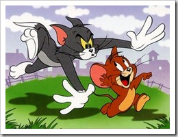 gato e rato Tom & Jerry