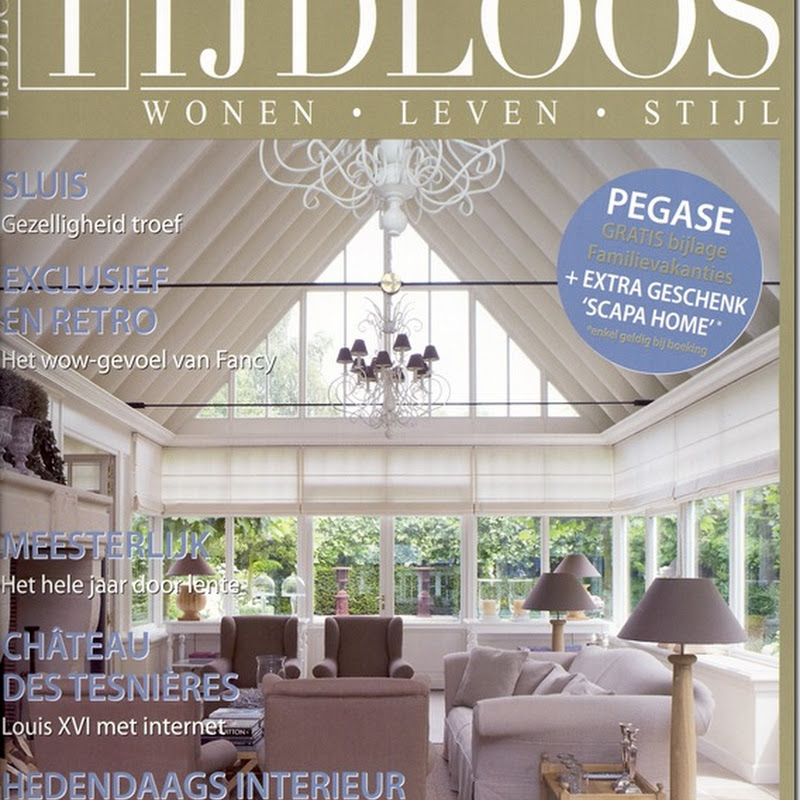 Lefèvre Interiors featured in the Belgian Magazine Tijdloos