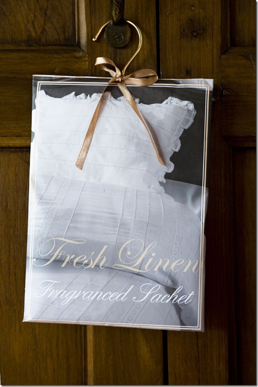Rivièra Maison 3 Fragranced sachet for fresh linen