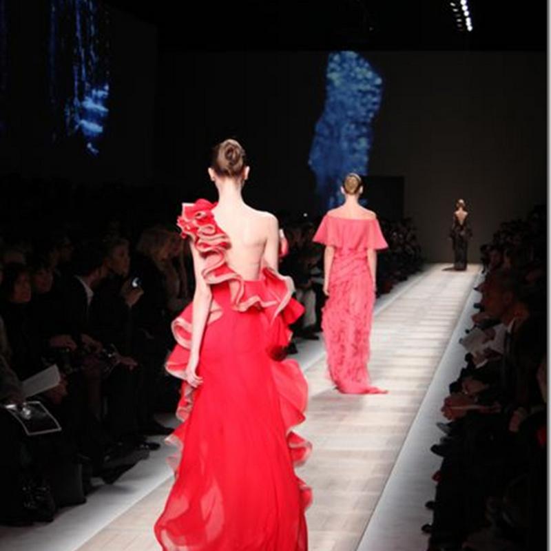 Valentino's catwalk