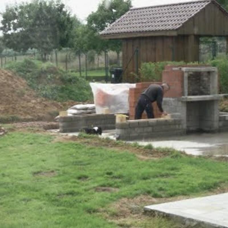 The outbuilding in our garden