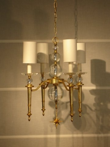 chandelier%20NE%20%20Crystal%20spheres,%204%20arm%20and%20shades