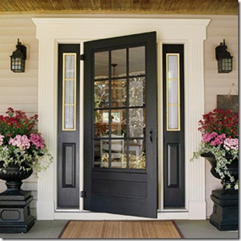 Creative Home Expressions: Paint the Sidelights or Not?