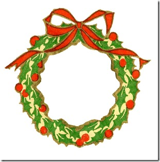 wreath-vintage-christmas-clipart-graphicsfairy001c