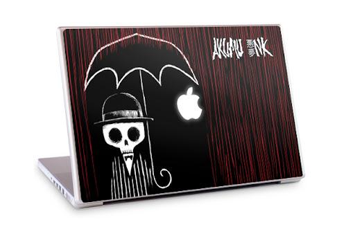 laptop skin, macbook skin, netbook skin, akumuink, gelaskin