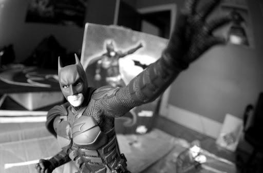 batman, dark knight, joker, batman statue, batman toy