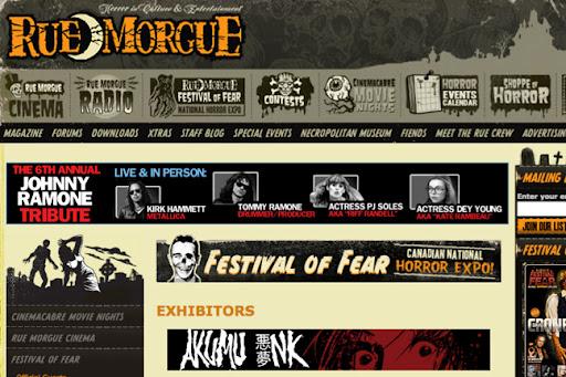 rue morgue, festival of fear, fanexpo, fanexpo 2010, fof 2010