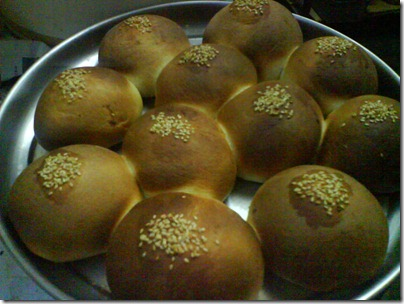 fresh from oven