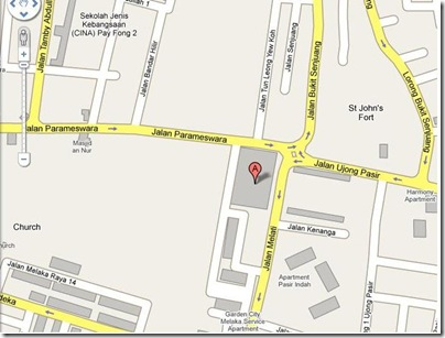 Banda Hilir Rojak location