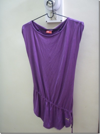 violet Puma top
