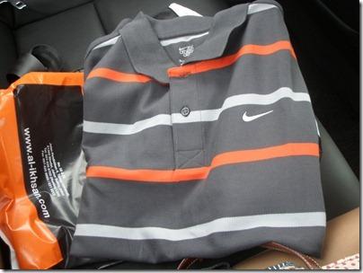 Nike polo tee