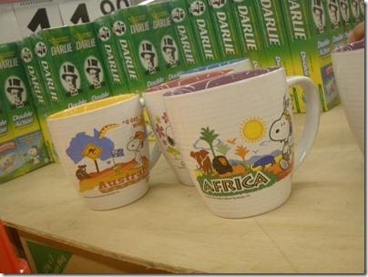 Snoopy X Darlie: Africa (mug)