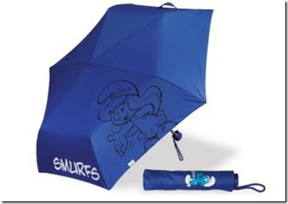 Smurf Umbrella - HKD 129