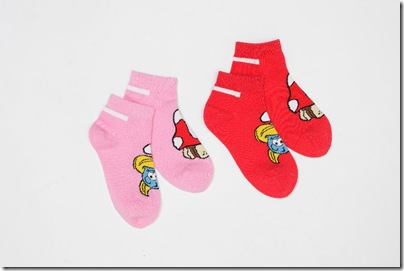 Girl Smurf Socks - HKD 69