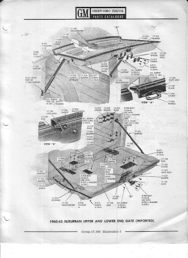 Description et spécifications Chevrolet GMC 1960-1966 Image7