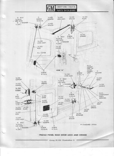 Description et spécifications Chevrolet GMC 1960-1966 Image5