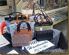 Family Bazaar @ HerbaLine Sept 2010 (Handbags)