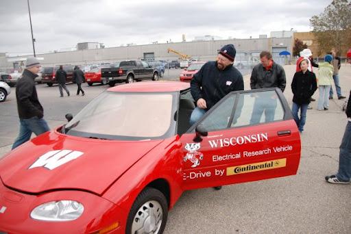 EV1 at Detroit Road Rally